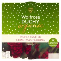 Duchy Originals from Waitrose Christmas pudding