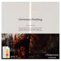 Waitrose Christmas pudding with Remy Martin champagne cognac