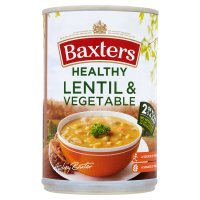 Baxters lentil & vegetable healthy choice soup