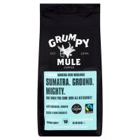 Grumpy Mule Fair Trade Organic Sumatra coffee