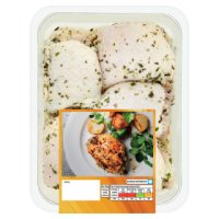 Waitrose British garlic & herb chicken thighs
