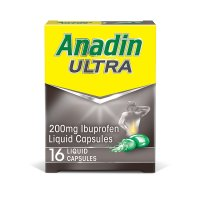 Anadin Ultra Liquid Capsules 16 Pack