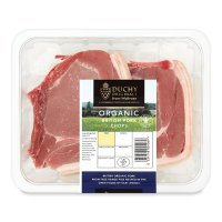 Duchy Originals from Waitrose organic Britsh pork loin chops