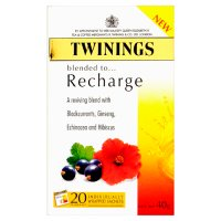 Twinings recharge 20 tea bags