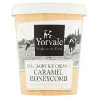Yorvale caramel honeycomb ice cream