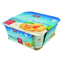 Mullerlight Fat Free Greek Style Yogurt, Honeyed Peach