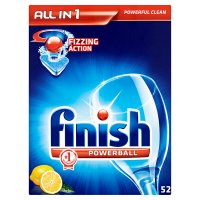Finish 52 all in one lemon powerball tablets