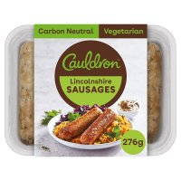 Cauldron 6 lincolnshire sausages
