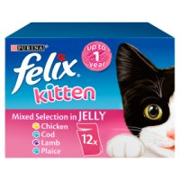 PURINA® FELIX® Kitten Mixed Selection Pack in Jelly Wet Food Pouch
