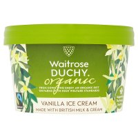Duchy Originals organic vanilla ice cream