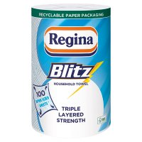 Image of Regina blitz 3 ply kitchen towels