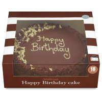 Waitrose Happy Birthday cake