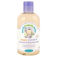 Earth Friendly Baby Organic mandarin shampoo & bodywash