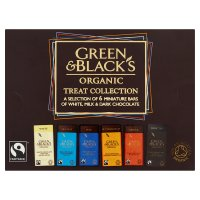 Green & Black's organic chocolate bar treat collection