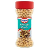 Dr. Oetker soft gold pearls