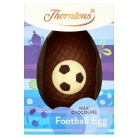Thorntons footy fanatic chocolate egg