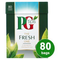 PG tips the fresh one 80s Pyramid Teabags