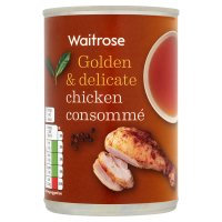 Waitrose chicken consomme soup
