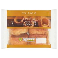 Waitrose 6 Yorkshire puddings