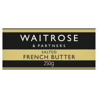 Waitrose Brittany butter with sea salt crystals