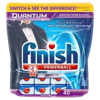 Finish 40 quantum powerball tablets