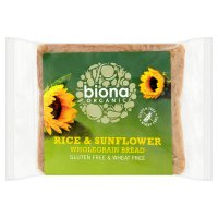 Biona Rice Sunflower Bread