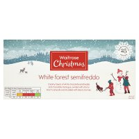 Waitrose Christmas White Forest Semifreddo