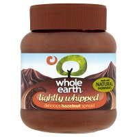 Whole Earth lightly whipped hazelnut spread