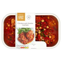 Waitrose Easy to Cook smoky chicken & chorizo traybake