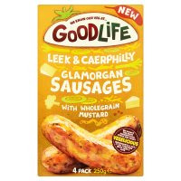 Goodlife 4 Leek & Caerphilly Glamorgan Sausages
