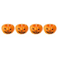 Waitrose Halloween Pumpkin Candles