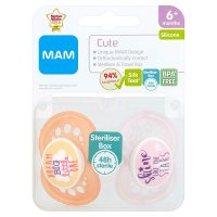 MAM Cute 6+M Soother