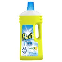 Flash All Purpose Cleaner Clean & Shine Crisp Fresh Lemons Liquid
