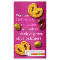 Waitrose All Butter Black & Green Olive Palmiers
