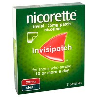 Nicorette invisi patch, 25mg