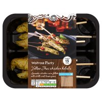 Waitrose Party Yellow Thai Chicken Kebabs