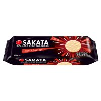 Sakata lightly salted rice cracker crisps