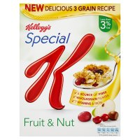 Kellogg's Special K fruit & nut clusters