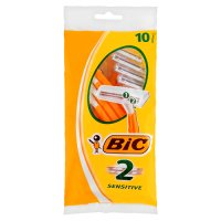 Bic 2 ten sensitive razors