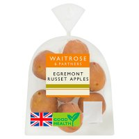 essential Waitrose Egremont Russet apples