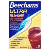 Beechams ultra all in one cranberry