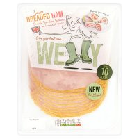 Welly Lean Breaded Ham 10 Slices