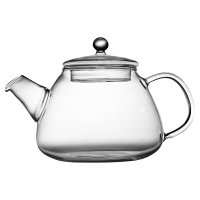 Waitrose glass teapot