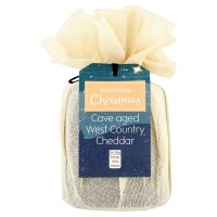 Waitrose Christmas cave aged West Country Cheddar