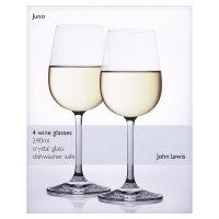 John Lewis Juno wine glasses 240ml