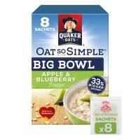 Oat So Simple Big Bowl 8s Apple & Blueberry