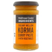 Waitrose korma curry paste