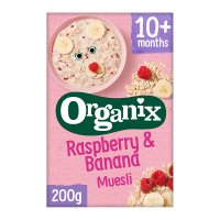 Organix Raspberry and Banana Muesli