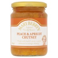 Mary Berry's peach & apricot chutney