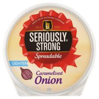 Seriously Strong Caramelised Onion Spreadable Lighter